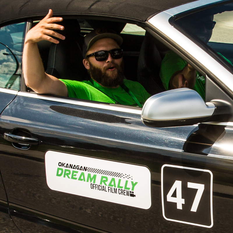 Corey Dunbar - Okanagan Dream Rally Marketing & Event Coordinator